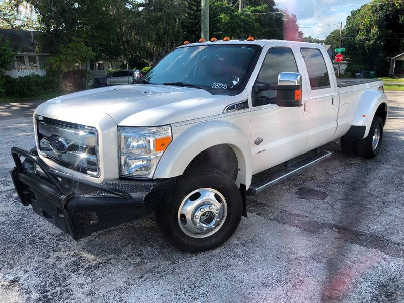 2016 Ford F-350 Super Duty for sale at LUXURY AUTO MALL in Tampa FL