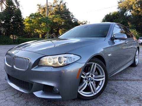 2013 BMW 5 Series for sale at LUXURY AUTO MALL in Tampa FL
