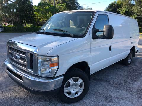 2012 Ford E-Series Cargo for sale at LUXURY AUTO MALL in Tampa FL