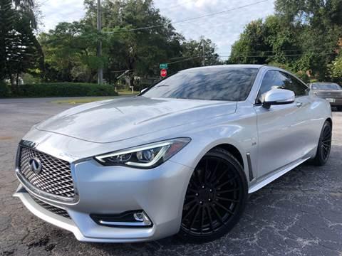 2018 Infiniti Q60 for sale at LUXURY AUTO MALL in Tampa FL