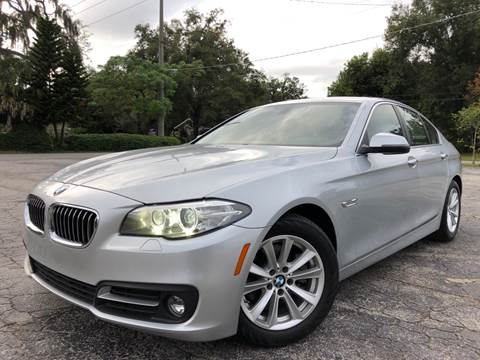 2015 BMW 5 Series for sale at LUXURY AUTO MALL in Tampa FL