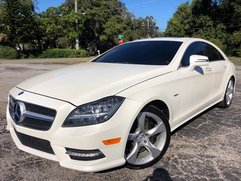 2012 Mercedes-Benz CLS for sale at LUXURY AUTO MALL in Tampa FL