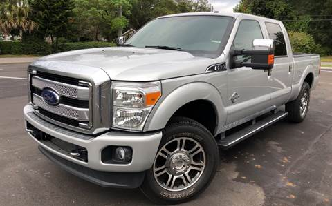 2015 Ford F-250 Super Duty for sale at LUXURY AUTO MALL in Tampa FL