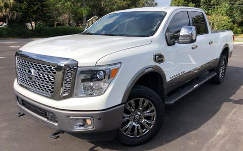 2016 Nissan Titan XD for sale at LUXURY AUTO MALL in Tampa FL