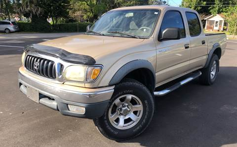 2001 Toyota Tacoma for sale at LUXURY AUTO MALL in Tampa FL