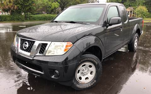 2009 Nissan Frontier for sale at LUXURY AUTO MALL in Tampa FL