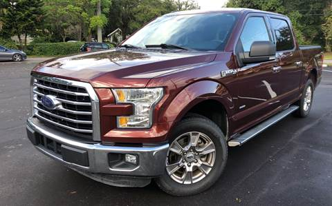 2016 Ford F-150 for sale at LUXURY AUTO MALL in Tampa FL