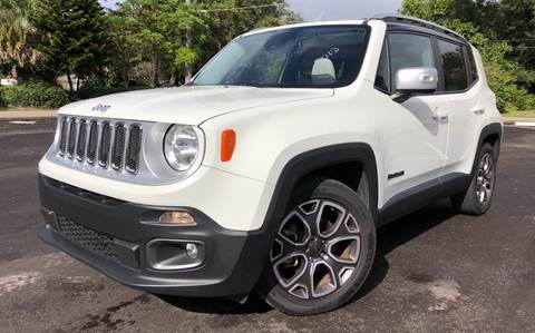 2015 Jeep Renegade for sale at LUXURY AUTO MALL in Tampa FL
