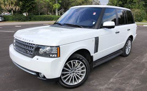 2011 Land Rover Range Rover for sale at LUXURY AUTO MALL in Tampa FL