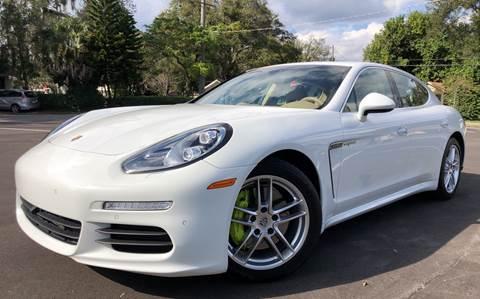 2014 Porsche Panamera for sale at LUXURY AUTO MALL in Tampa FL