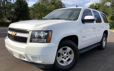 2013 Chevrolet Tahoe for sale at LUXURY AUTO MALL in Tampa FL