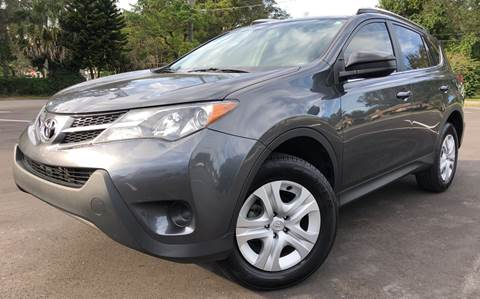 2013 Toyota RAV4 for sale at LUXURY AUTO MALL in Tampa FL