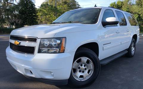 2014 Chevrolet Suburban for sale at LUXURY AUTO MALL in Tampa FL
