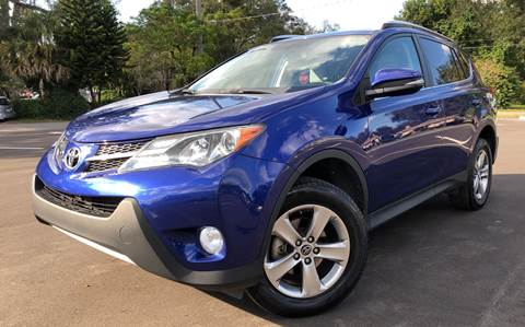2015 Toyota RAV4 for sale at LUXURY AUTO MALL in Tampa FL