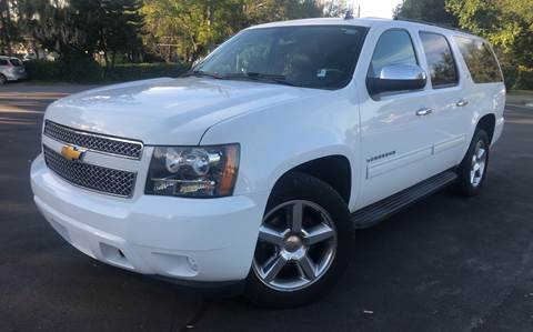 2013 Chevrolet Suburban for sale at LUXURY AUTO MALL in Tampa FL