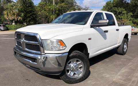 2014 RAM Ram Pickup 2500 for sale at LUXURY AUTO MALL in Tampa FL