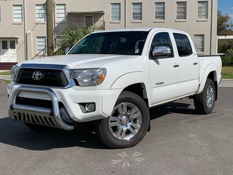 2013 Toyota Tacoma for sale at LUXURY AUTO MALL in Tampa FL