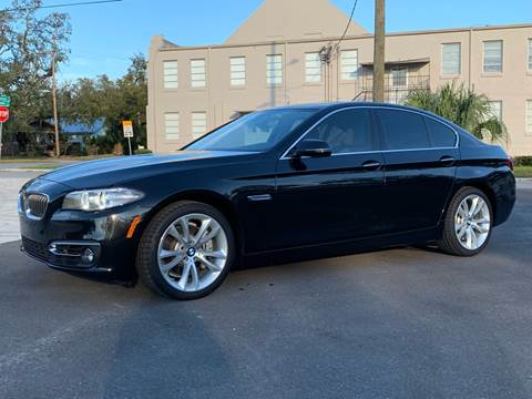 2016 BMW 5 Series for sale at LUXURY AUTO MALL in Tampa FL