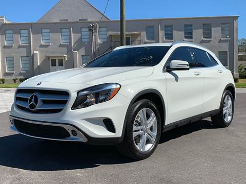 2016 Mercedes-Benz GLA for sale at LUXURY AUTO MALL in Tampa FL