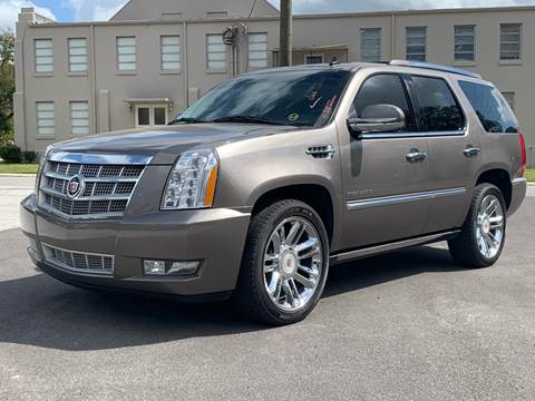 2011 Cadillac Escalade for sale at LUXURY AUTO MALL in Tampa FL