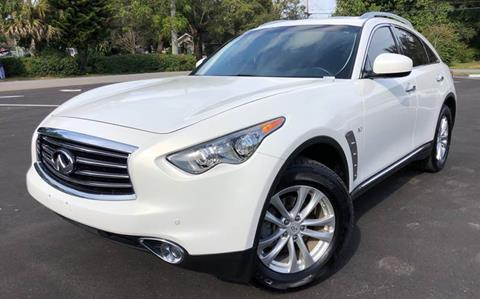 2015 Infiniti QX70 for sale at LUXURY AUTO MALL in Tampa FL