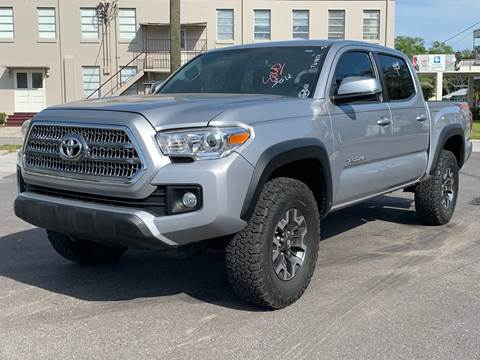 2016 Toyota Tacoma for sale at LUXURY AUTO MALL in Tampa FL