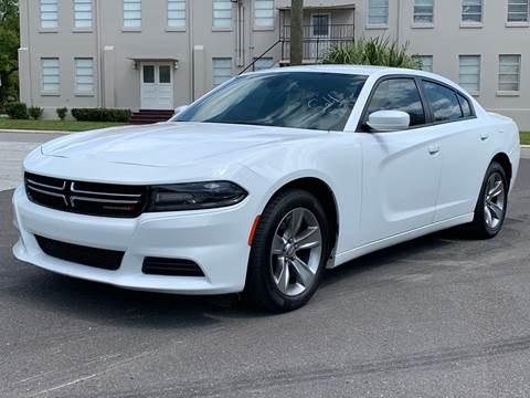 2015 Dodge Charger for sale at LUXURY AUTO MALL in Tampa FL