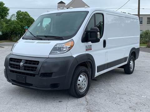 2017 RAM ProMaster Cargo for sale at LUXURY AUTO MALL in Tampa FL