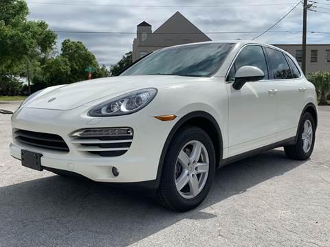 2011 Porsche Cayenne for sale at LUXURY AUTO MALL in Tampa FL