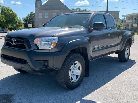 2012 Toyota Tacoma for sale at LUXURY AUTO MALL in Tampa FL