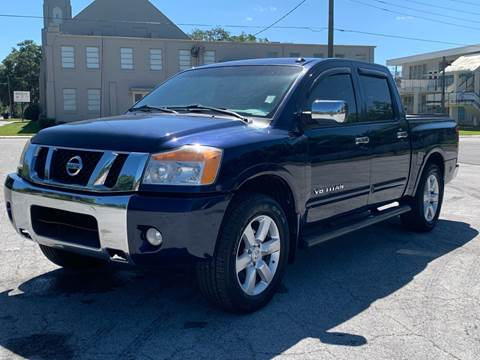 2010 Nissan Titan for sale at LUXURY AUTO MALL in Tampa FL