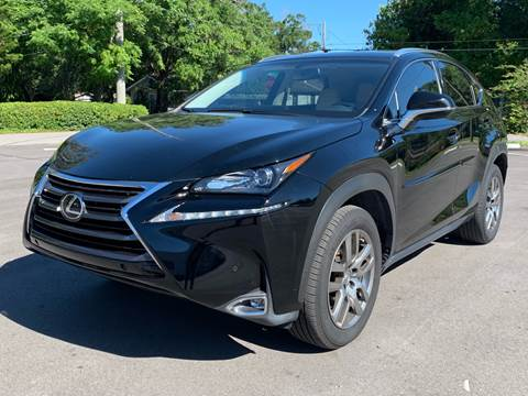 2016 Lexus NX 200t for sale at LUXURY AUTO MALL in Tampa FL