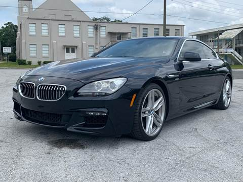 2012 BMW 6 Series for sale at LUXURY AUTO MALL in Tampa FL