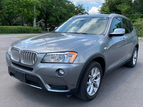 2012 BMW X3 for sale at LUXURY AUTO MALL in Tampa FL