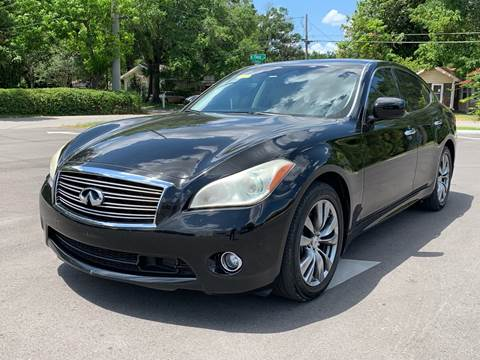 2012 Infiniti M37 for sale at LUXURY AUTO MALL in Tampa FL