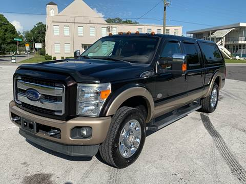 2013 Ford F-250 Super Duty for sale at LUXURY AUTO MALL in Tampa FL