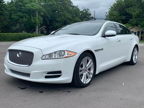 2013 Jaguar XJL for sale at LUXURY AUTO MALL in Tampa FL