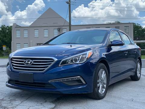 2015 Hyundai Sonata for sale at LUXURY AUTO MALL in Tampa FL