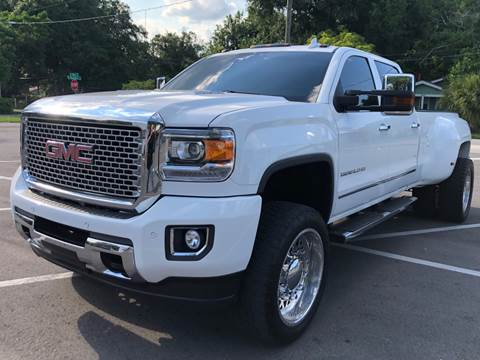 2015 GMC Sierra 3500HD for sale at LUXURY AUTO MALL in Tampa FL