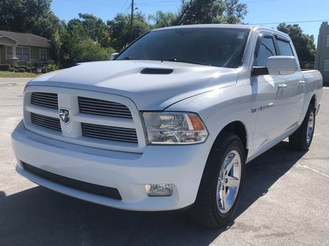 2011 RAM Ram Pickup 1500 for sale at LUXURY AUTO MALL in Tampa FL