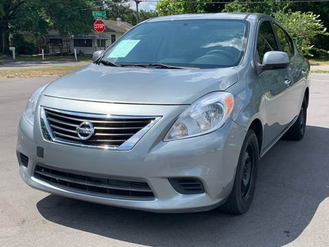 2012 Nissan Versa for sale at LUXURY AUTO MALL in Tampa FL
