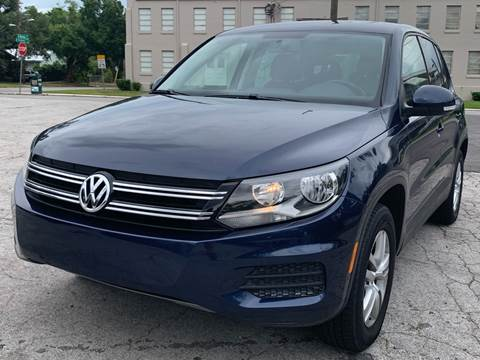 2012 Volkswagen Tiguan for sale at LUXURY AUTO MALL in Tampa FL