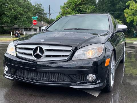 2009 Mercedes-Benz C-Class for sale at LUXURY AUTO MALL in Tampa FL
