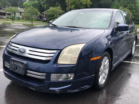 2007 Ford Fusion for sale at LUXURY AUTO MALL in Tampa FL
