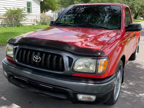 2004 Toyota Tacoma for sale at LUXURY AUTO MALL in Tampa FL