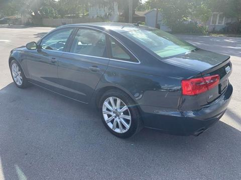 2013 Audi A6 for sale at LUXURY AUTO MALL in Tampa FL