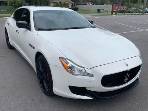 2014 Maserati Quattroporte for sale at LUXURY AUTO MALL in Tampa FL