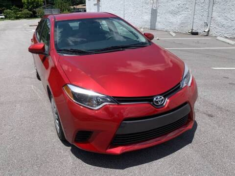 2014 Toyota Corolla for sale at LUXURY AUTO MALL in Tampa FL