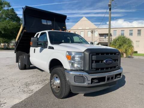 2012 Ford F-350 Super Duty for sale at LUXURY AUTO MALL in Tampa FL