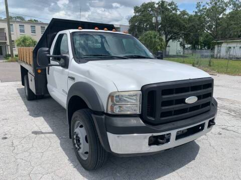 2007 Ford F-450 Super Duty for sale at LUXURY AUTO MALL in Tampa FL
